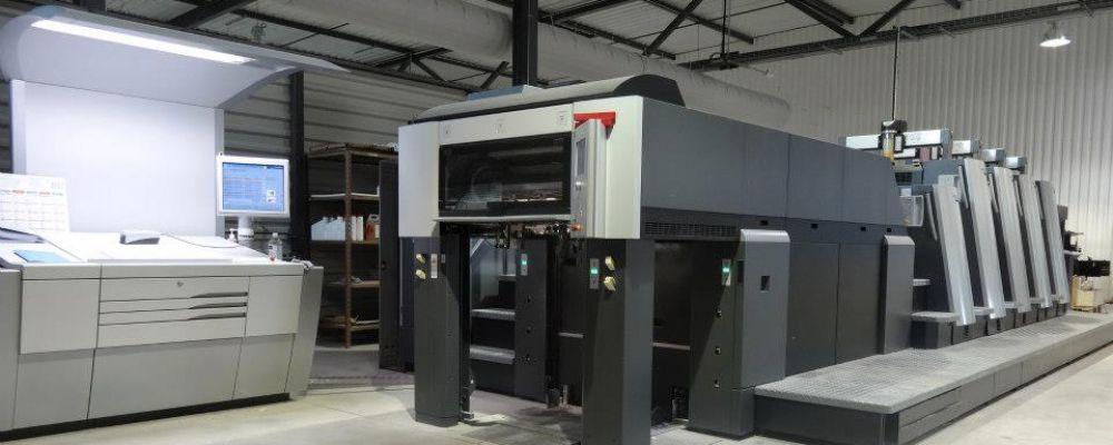 Presse Heidelberg XL 75 automatisée 4 couleurs 53x75 CIP 4